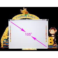 السبورة الذكية للحضانات (مولي جانجل MJ-10000)