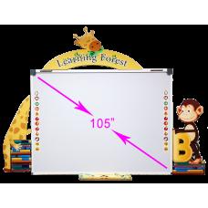 السبورة التفاعلية السبورة الذكية للحضانات (مولي جانجل MJ-10000)