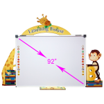 smart board السبورة الذكية للحضانات (مولي جانجل MJ-9000)