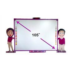 السبورة التفاعلية السبورة الذكية للحضانات (مولي كيدز MK-10000)