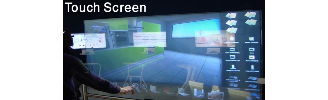 السبورة الذكية touch-screens